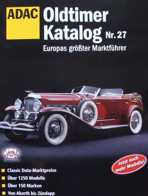 Oldtimer Katalog Nr. 27 - Europas größter Marktführer