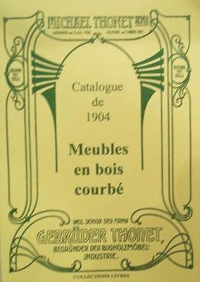 Thonet meubles bois courbes 1904