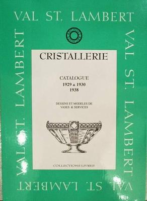 Val Saint Lambert catalogue 1929-30-38 (vases et services)