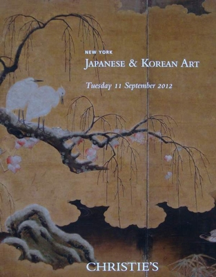 Christie's Auction Catalog : Japanese & Korean Art