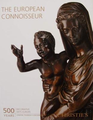 Christie's Auction Catalog : The European Connoisseur