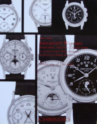 Christie's Auction Catalog : Important Watches 16-06-2010