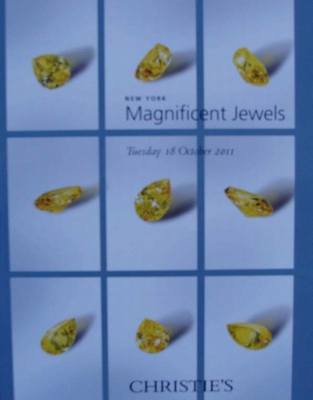 Christie's Auction Catalog : Maginficent Jewels