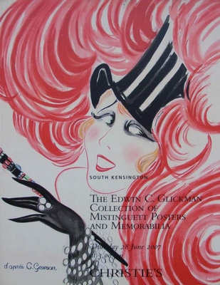 Christie's Auction Catalog Mistinguett Posters & Memorabilia