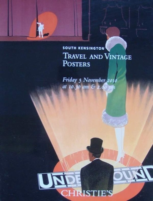 Christie's Auction Catalog : Travel and Vintage Posters