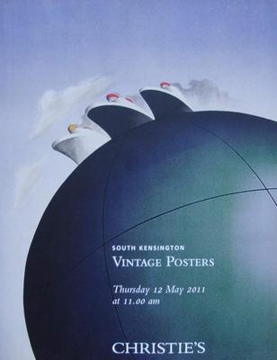 Christie's Auction Catalog : Vintage Posters 12-05-2011