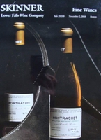 Auction Catalog - Fine Wines - November 2, 2010