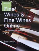 Auction Catalog - Fine Wines - October 30, 2012