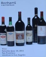 Auction Catalog - Wine June 18, 2011