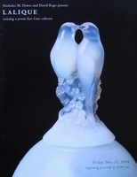 Auction Catalog - René Lalique - May 21, 2004