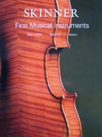 Auction Catalog - Fine Musical Instruments - May 4 2008