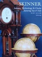 Auction Catalog - Science, Technology & Clocks - July, 2009