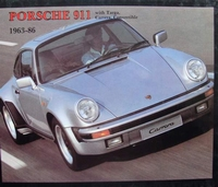 Porsche 911 1963 - 1986 with Targa, Carrera, Convertible