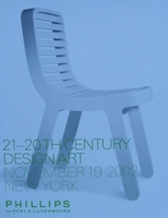 Phillips Auction Catalog - 21-20th Century Design Art