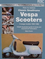 How to Restore Classic Smallframe Vespa Scooters