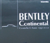 Bentley Continental, Corniche & Azure 1951-2002