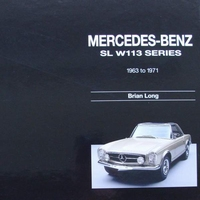 Mercedes Benz SL - W113-series 1963 to 1971