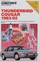 Chilton's Repair Manual - Thunderbird and Cougar 1983-92