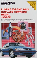 Lumina, Grand Prix, Cutlass Supreme, Regal 1988-92