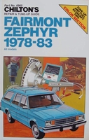 Chilton's Guide - Fairmont and Zephyr, 1978-83 all models