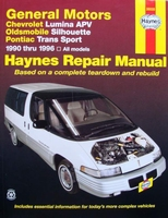 Haynes Repair Manual : General Motors 1990 - 1996