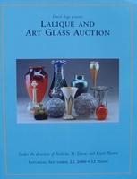 Auction Catalog - Lalique & Art Glass - September 23, 2000