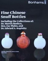 Bonhams Auction Catalog - Fine Chinese Snuff Bottles