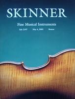Skinner Auction Catalog - Fine Musical Instruments - 2003