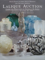 Auction Catalog - Lalique - October 20, 2001