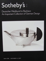 Sotheby's - Deutscher Werkbund to Bauhaus