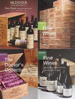 4 Skinner Auction Catalogs - Fine Wines