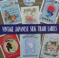 Vintage Japanese Silk Trade Labels