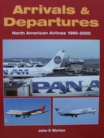 Arrivals and Departures - North American Airlines 1990-2000
