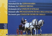 Dictionary for Carriage Driving
