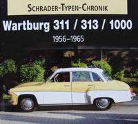 Wartburg 311 / 313 / 1000 - 1956 - 1965