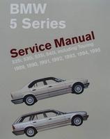 BMW 5 Series Service Manual (E34) 525i, 530i, 535i, 540i