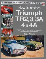 How to Restore Triumph TR2, 3, 3A, 4 & 4A