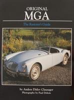 Original MGA - The Restorer's Guide