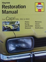 Ford Capri Mk I, Mk II & Mk III - Restoration Manual