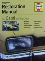 Ford Capri Mk I, Mk II & Mk III - Restoration Manual