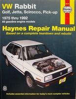 Haynes Repair Manual - VW Rabbit, Golf, Jetta, Scirocco