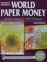 Catalog of World Paper Money, Modern Issues - 1961-Present