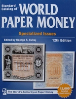 Standard Catalog of World Paper Money, Specialized Issues