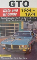 GTO Data and ID Guide 1964-1974
