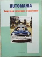 Automania argus des catalogues d'automobile