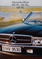 Mercedes-Benz R107 -  300 SL, 420 SL, 500 SL