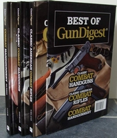 Best Of Gun Digest - 3 Book Set