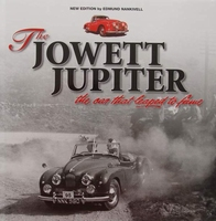 The Jowett Jupiter - The car that leaped to fame