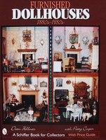 Furnished Dollhouses 1880s to 1980s