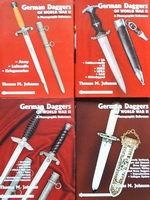 German Daggers of World War II - 4 Volumes